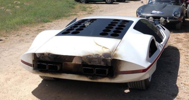 "la ""Modulo"" modificata si incendia: come travisare il senso di una Dream car"