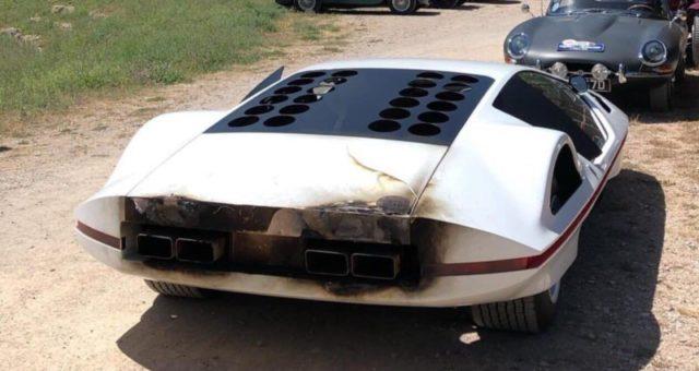 """la """"Modulo"""" modificata si incendia: come travisare il senso di una Dream car"""